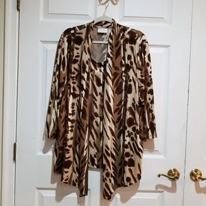 Alfred Dunner Jacket with attached Top